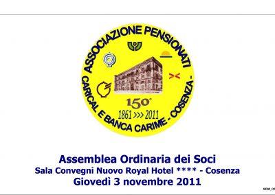 Assemblea dei Soci anno 2011