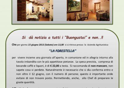 Comunicazione _Pranzo alla Forestella