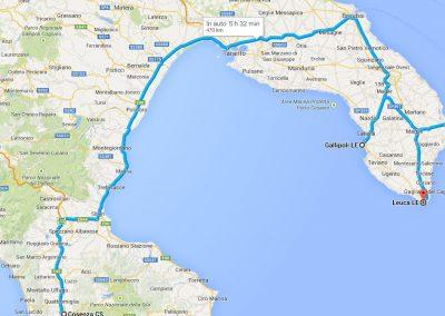 Gita in Puglia nel Salento il 25-27 aprile 2014