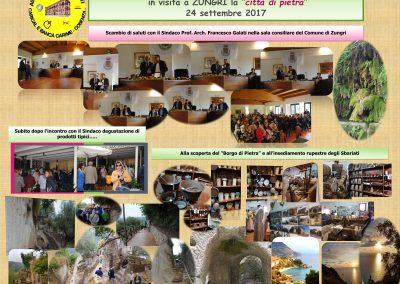 """Gita a Zungri """"La Città di Pietra"""" il 24 settembre 2017"""
